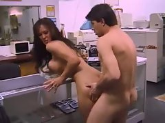 Asia Carrera fucked in the print shop