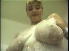 Her big soapy titties look so hot