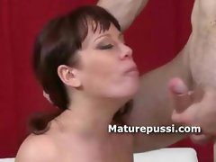 Big booty mature babe fucked doggystyle by a much younger college dude