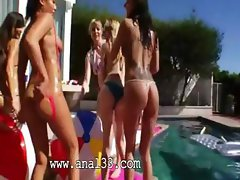 Perfect group anal copulate outdoors