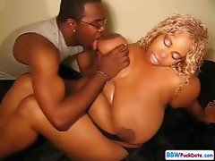 Very Big BBW Ebony Fucked