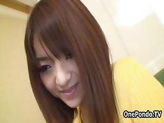 Cute Japanese teen cutie showing part2