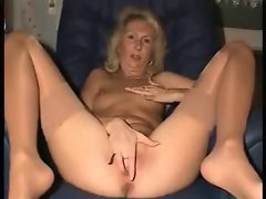 Mature gal with a perfect pink pussy