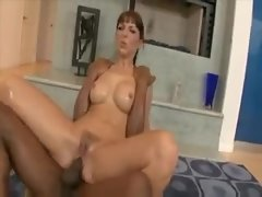 Slick chick takes a fucking from a black dude