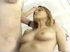 Sloppy wet blowjob and facefuck