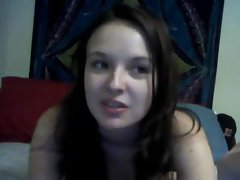 Naked teen and her webcam fun