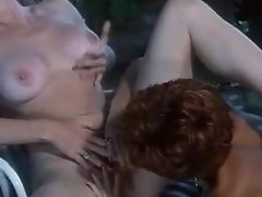 Pussy eating with two marvelous lesbians