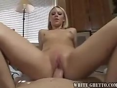 The way she rides the dick is amazing