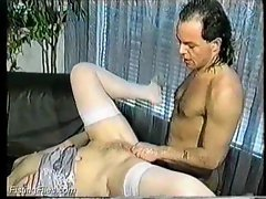 Anal sex and then pussy fisting