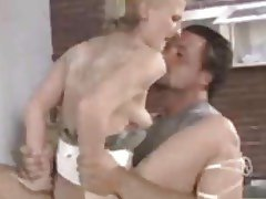 Granny pussy feels so good around his cock