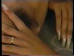 Lesbian shaving