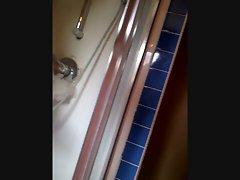 BBW Wife taking a shower