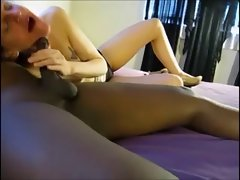 Dieting Hubby Enjoys BBC Creampie from Wife&amp,#039,s Hole! Enjoy!