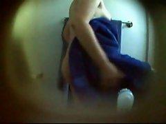 hairy girl on hidden cam