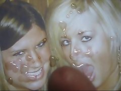 Gman Cum on Face of two Sexy Girls (tribute)