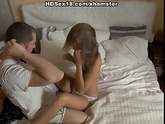 Cute blonde&amp,#039,s amazing streching