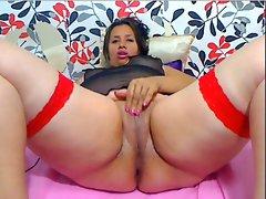 Webcam - BBW Colombian fingering, 25 years old