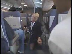Flight Attendant upskirt 3