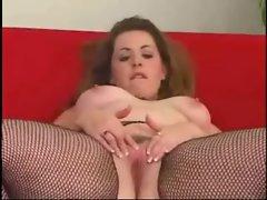 Fat BBW Ex GF masturbating her Wet Pussy for Black BF