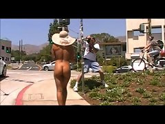 Black Woman Walking Naked in Public
