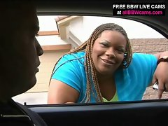 Plump Chick Jams Stud in Her Fat Vagina Part 1
