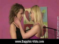 Cute lesbian teens oral sex from Sapphic Erotica 29