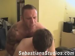 Greg and Brad Fuck Bareback