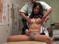 Spycam Schoolgirl climax Massage 4