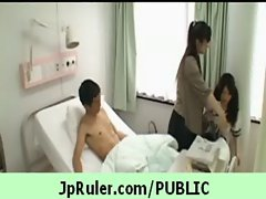 Horny japanese girl gets fucked in public video 24