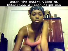 Sexy Black Teen Booty Shaking Nude  black ebony cumshots ebony swallow interracial african ghetto b