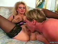 Two blonde sluts engage in wild sexcapades