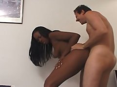Ebony vs White bitch winner get whtie dick