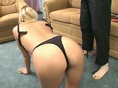 Hot fetish sex for horny blonde