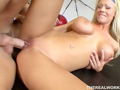 Busty blonde tanya james fucked hard after her workout