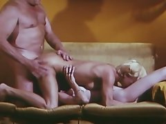 Vintage threesome porn w/two hot and naughty sluts and one horny cock