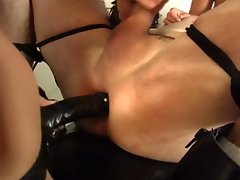Mistress orabella and maxine x whip and ass fuck slave