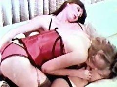 Beautiful shemale getting blowjob from stunning blonde slut