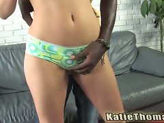 Hot white slut katie thomas loves black cock