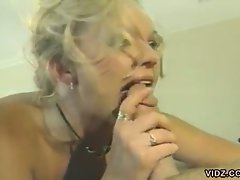 Leave everything to this blonde, sexy bitch as she gives everything,...