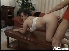 Chubby mature slut, Tabea hasn't had a good fucking in ages and with...