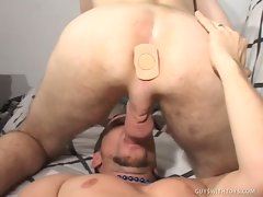 Johnathon is hanging out in a sexy wifebeater when he invites one of...
