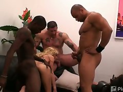-EXCLUSIVE BEHIND THE SCENES EPISODE!-Can't get enough gang bang?!...