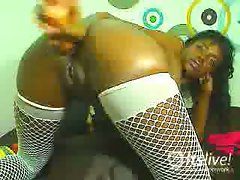 BlackBabyDoll is a 19-year-old black beauty from Colombia who's into...