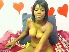 HotSexyErotic's name says it all! She's a 25-year-old black vixen...