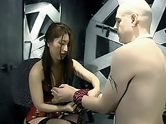 Mistress Asha and Mistress Alexa got themselves a slave in this...