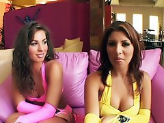 Naomi and Sativa Rose are the perfect team for an explicit foursome....