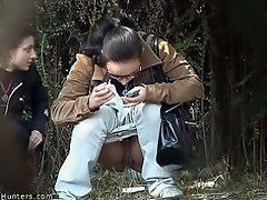 Spycam reveals pisser...