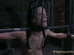 The most perverse mind in BDSM is at it again. The head-cage that...