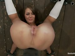 Two friends trapped by evil kinky couple, bound, ass fucked, made to...