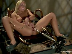 Double Updates: Upstairs Sybian orgasms in the fancy lounge,...